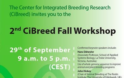 Taller organizado por el CiBreed (Center for Integrated Breeding Research)