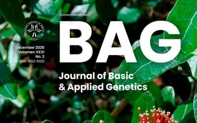 Nuevo volumen de nuestra revista BAG. Journal of Basic & Applied Genetics