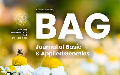 Nuevo artículo de nuestra revista BAG. Journal of Basic & Applied Genetics