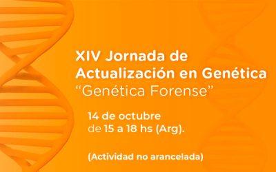 XIV JORNADAS DE ACTUALIZACIÓN EN GENÉTICA DE LA UNIVERSIDAD DE MORÓN